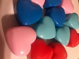 12 HEART candy CONTAINERS for  birthday party favors LOOT ba