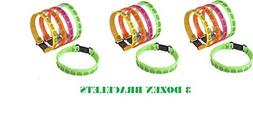 Neon SMILEY FACE Buckle Bracelets ~ Birthday Party Favors ~