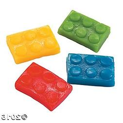 Brick Building Block Party Candy Color Gummy Bricks 1 lb