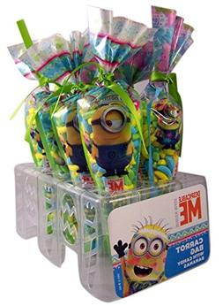 Despicable Me Minions Easter Carrot Candy Bags, Pack of 8