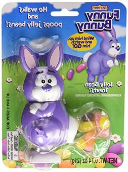 Funny Bunny Wind-up Jelly Bean Pooping Easter Bunny Candy Di