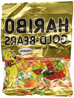 Haribo Gummi Candy Gold-Bears, 5-Ounce Bag