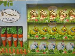 Lindt Easter Chocolate Bunny and Friends with carrots Easter