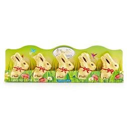 Mini Lindt GOLD BUNNY - Milk Chocolate, Net Wt 1.7 Ounce, 5