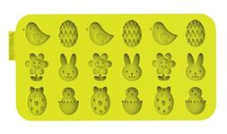 Siliconezone Easter Chocolate Wafer Mold, Lime