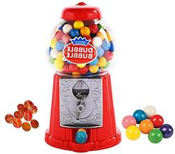 "Playo 8.5"" Coin Operated Gumball Machine Toy Bank - Dubble B"