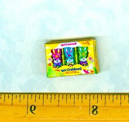 DOLLHOUSE Miniature Size Easter Bunny Candy Box