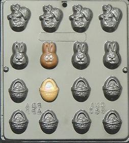 Easter Assortment Chocolate Candy Mold Easter  883 NEW
