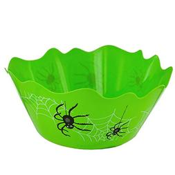 Premium Halloween Green Flexible Spider Candy Trick Or Treat