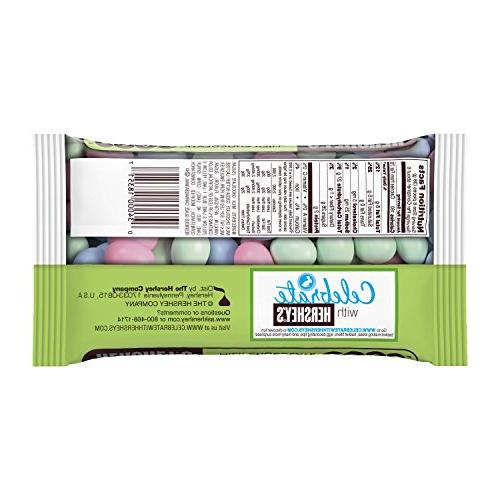 Coated Solid Milk Chocolate Eggs 8 Ounce Package