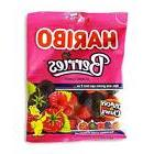 Haribo Gummi Candy, Berries, 5 oz Bags
