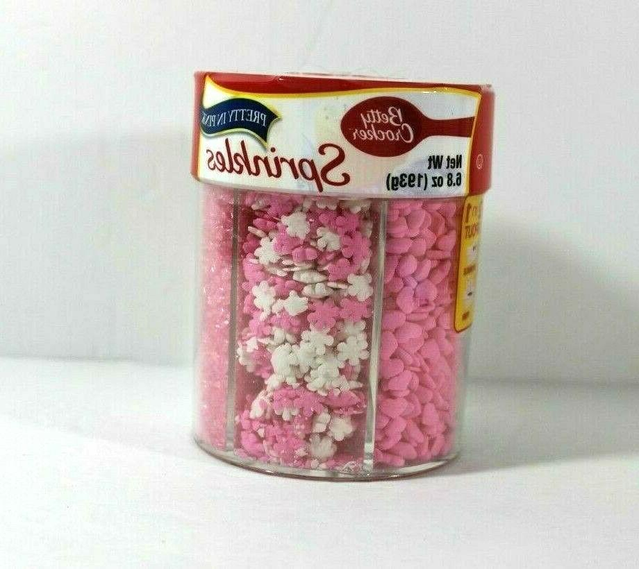 sprinkles 6 8 ounce pretty in pink