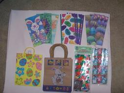 LOT OF NEW EASTER GIFT/CANDY/GOODY BAGS - ASSORTED 63 piece