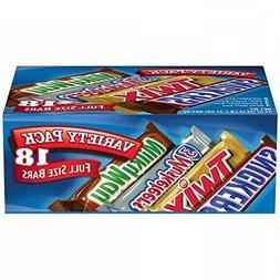MARS Chocolate Singles Size Candy Bars Variety Pack 33.31-Ou