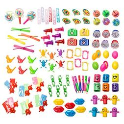 Party Favor Toy Assortment Pack of 101 Pc Mid-size and Small