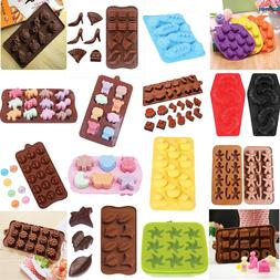 Silicone Mold Chocolate Ice Cube Tray Fondant Molds DIY SOAP